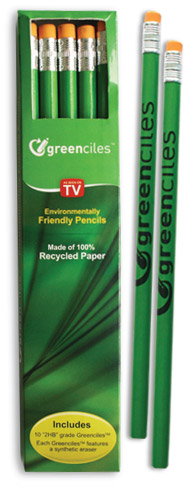 packylapices Greenciles   100% Recycled Pencils